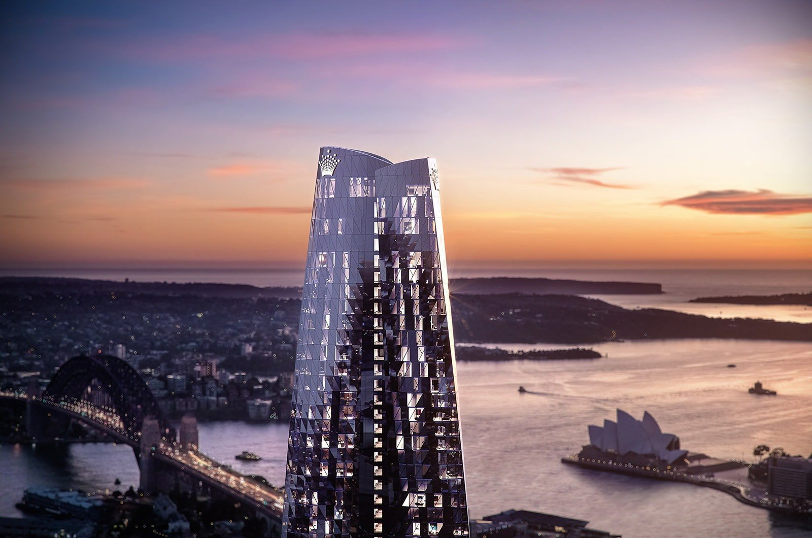 Sydney's Newest Skyscraper Tops Out