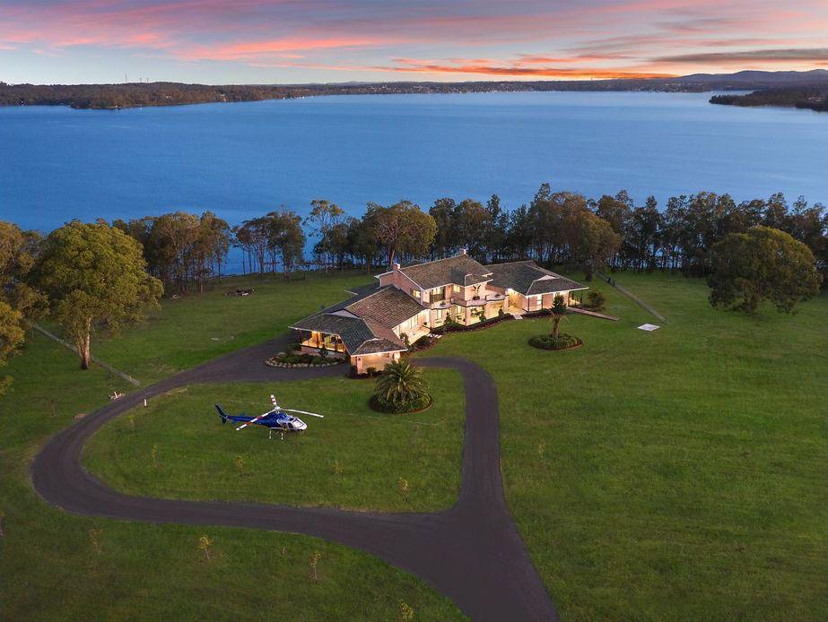 Lake Macquarie waterfront property