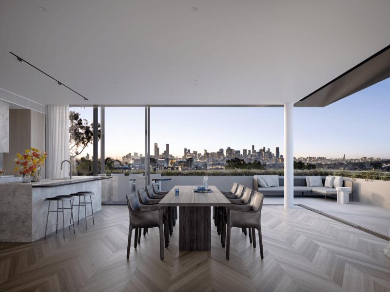 Melbourne Luxury Penthouse
