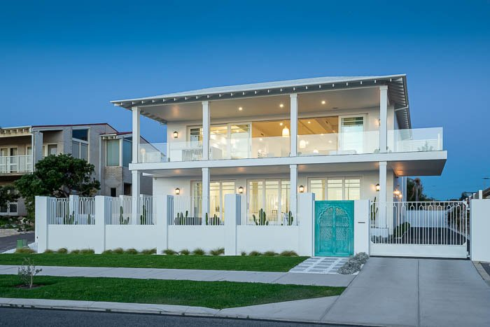 Oceanfront stunner listed in Perth